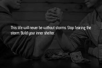 Storm Shelter Sayings