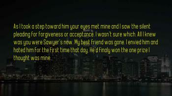 The First Day I Met U Sayings