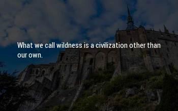 Thoreau Wildness Sayings