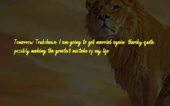 Trubshawe Sayings