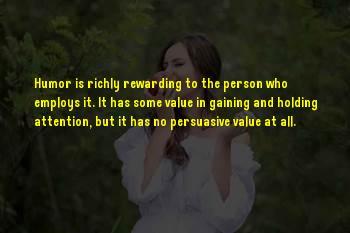 Value Persuasive Sayings